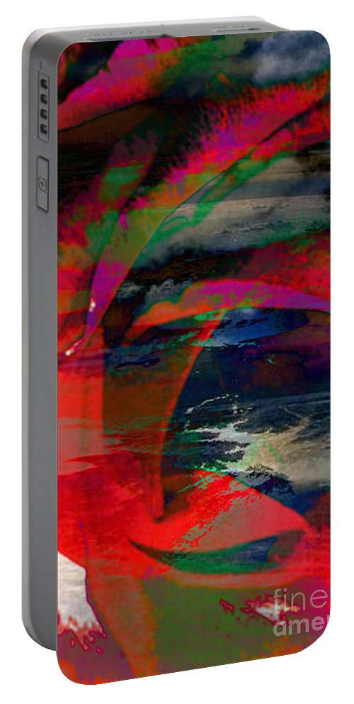 Ocean View Digital Art Portable Battery Charger featuring the digital art Unconditional Love by Yael VanGruber