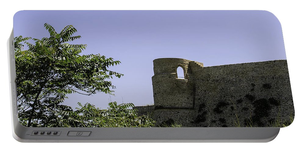 Castle Portable Battery Charger featuring the photograph Under Siege by Andrea Mazzocchetti