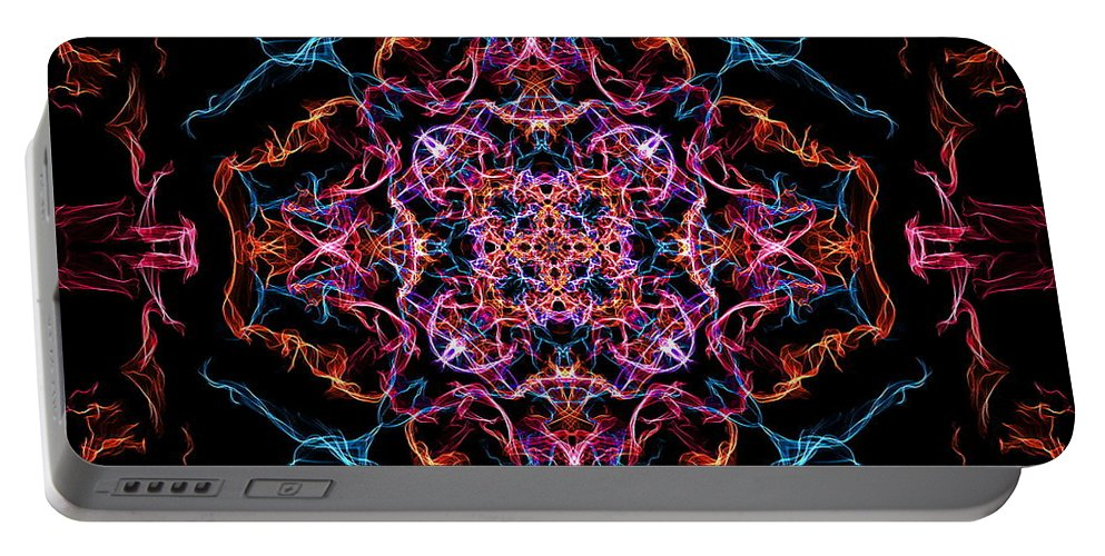 Unity Portable Battery Charger featuring the digital art Unity by April Patterson