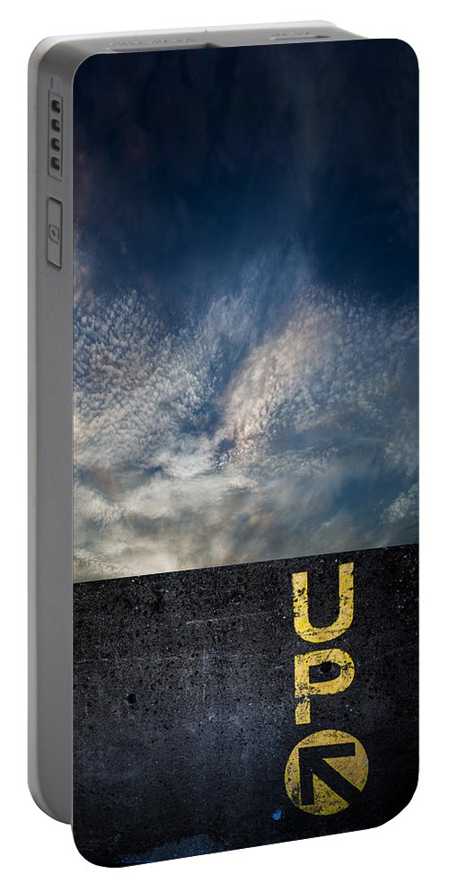 Up Portable Battery Charger featuring the photograph Up At Sunrise by Bob Orsillo