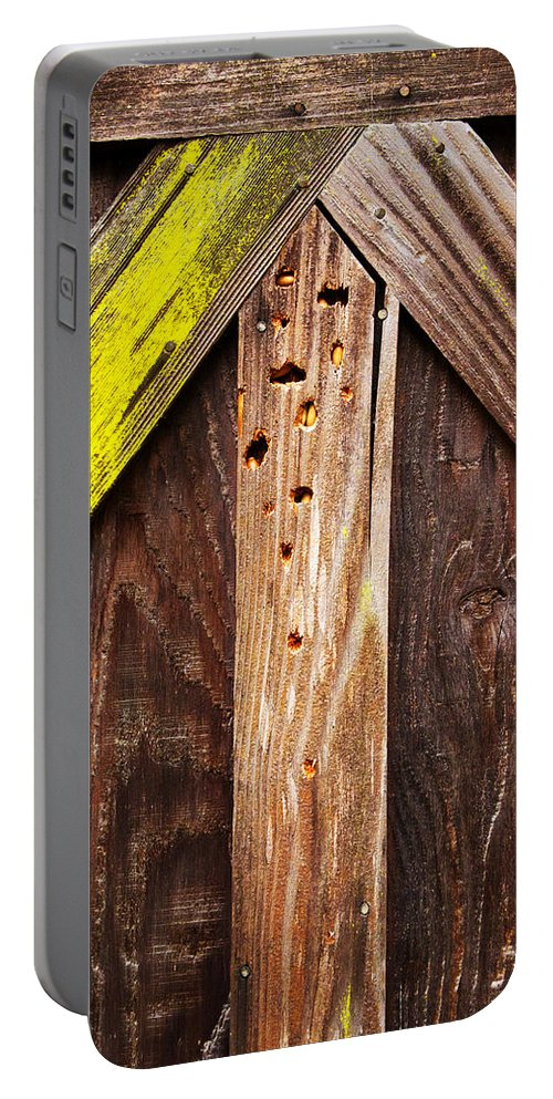 Winter Storage Portable Battery Charger featuring the photograph Up by Guy Shultz