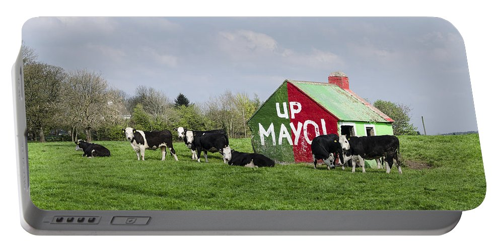 Mayo Portable Battery Charger featuring the photograph Up Mayo by Bill Cannon