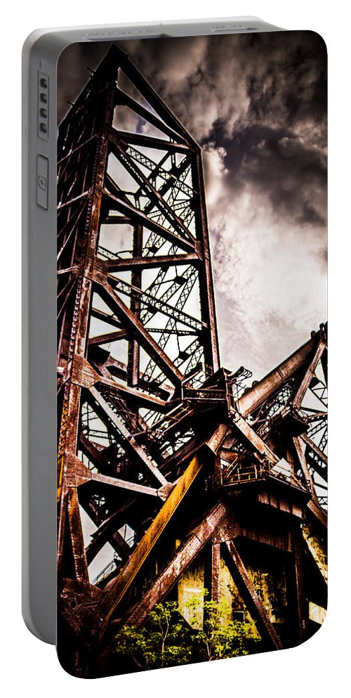 Portable Battery Charger featuring the photograph UP by Sue Conwell