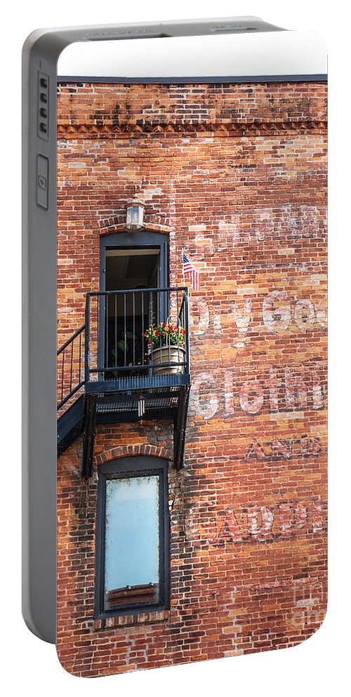 Upper Portable Battery Charger featuring the photograph Upper Landing by Grace Grogan