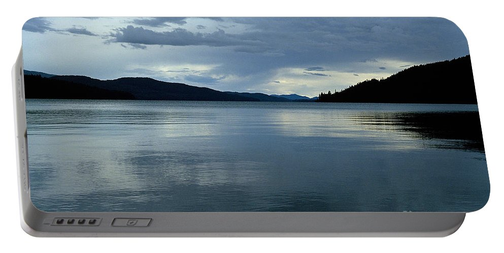 Priest Lake Portable Battery Charger featuring the photograph Upper Priest Lake by Sharon Elliott