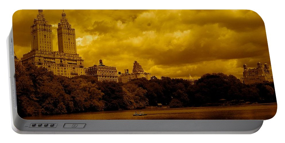 Iphone Cover Cases Portable Battery Charger featuring the photograph Upper West Side And Central Park by Monique's Fine Art