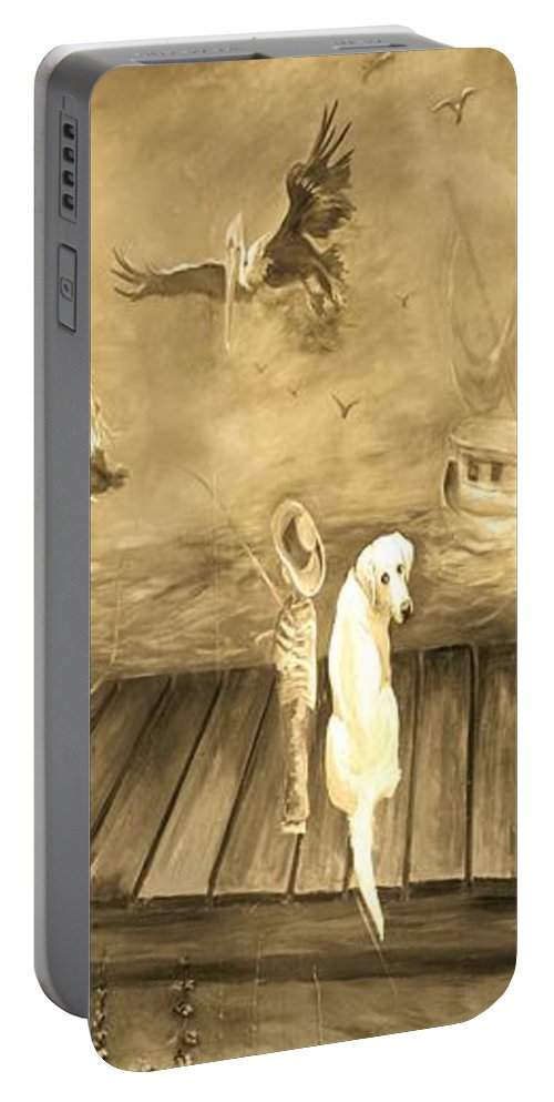Urban Art Portable Battery Charger featuring the photograph Urban Art by Jean Goodwin Brooks