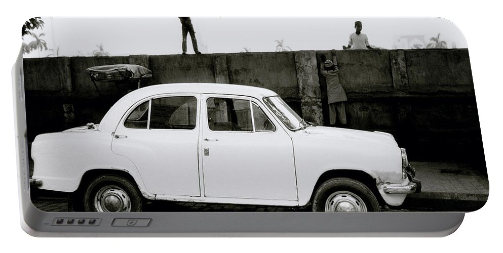 Surreal Portable Battery Charger featuring the photograph Urban Calcutta by Shaun Higson