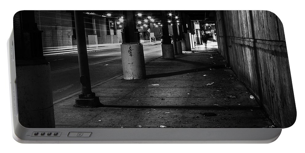 Chicago Portable Battery Charger featuring the photograph Urban Underground by Scott Norris