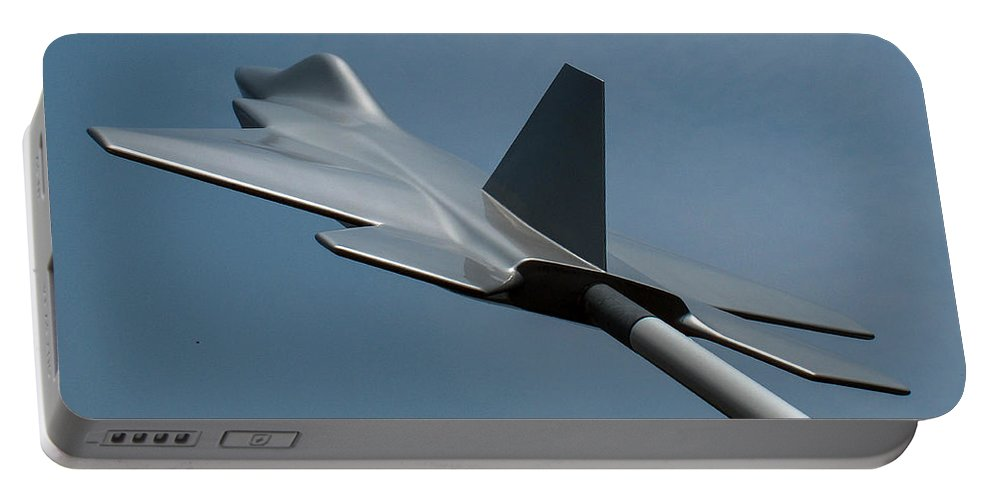 Usaf Museum Portable Battery Charger featuring the photograph Usaf Museum Memorial Park by Tommy Anderson