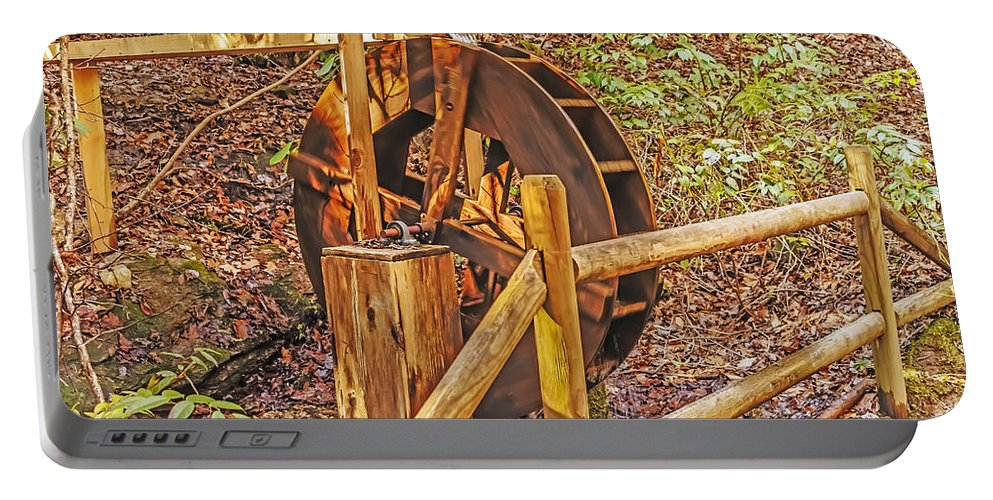 Travel Portable Battery Charger featuring the photograph Using Nature by Elvis Vaughn