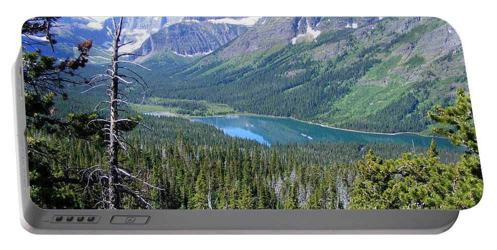 Valley Portable Battery Charger featuring the photograph Valley View by Mark Hudon