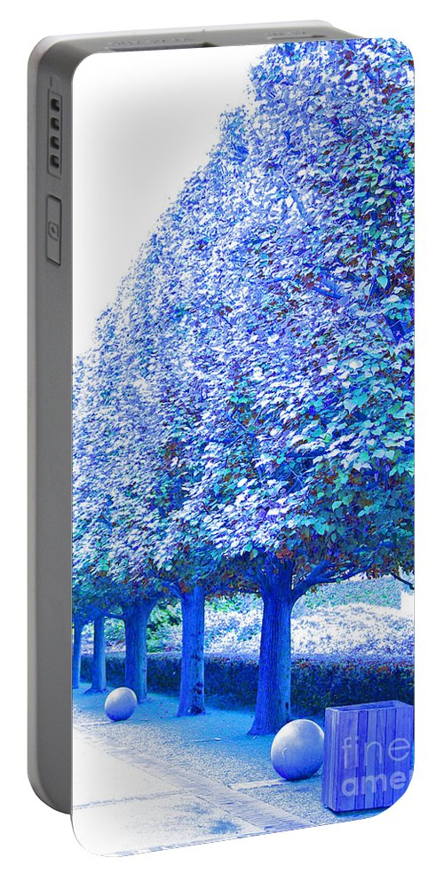First Star Art Portable Battery Charger featuring the photograph Vanishing Point by First Star Art