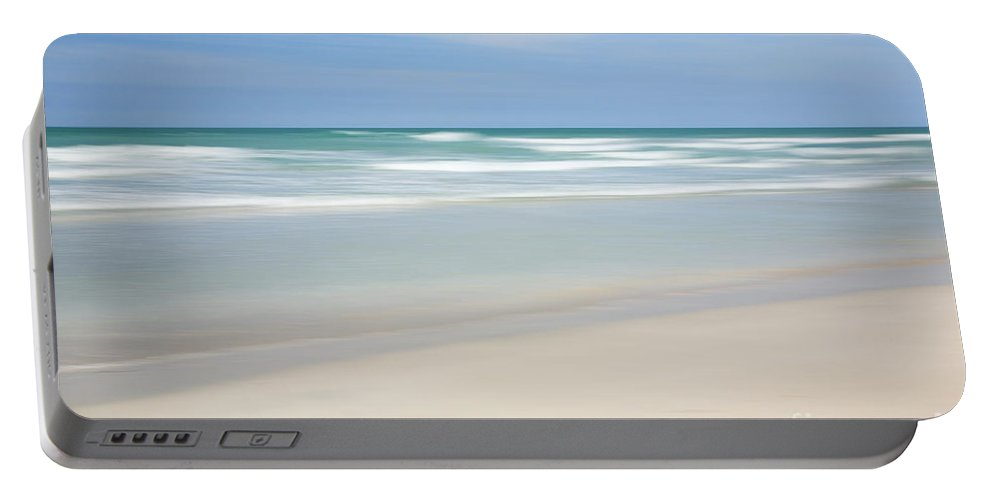 Atlantic Ocean Portable Battery Charger featuring the photograph Varadero Beach by Deborah Benbrook