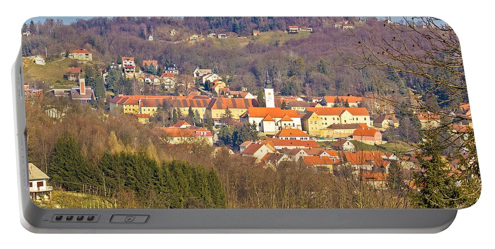 Croatia Portable Battery Charger featuring the photograph Varazdinske Toplice - Thermal Springs Town by Brch Photography