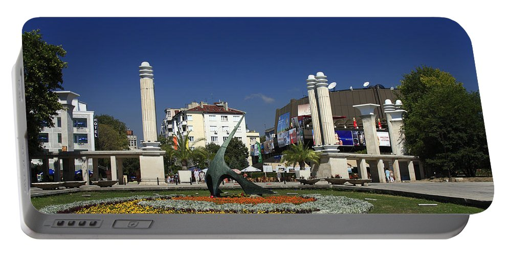 Garden Portable Battery Charger featuring the photograph Varna Bulgaria by Sally Weigand