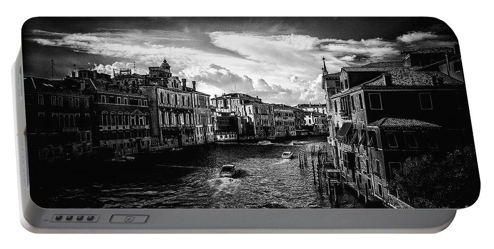 Architectural Portable Battery Charger featuring the photograph Venice by Traven Milovich