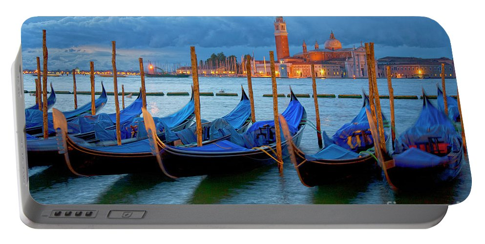 Venice Portable Battery Charger featuring the photograph Venice View To San Giorgio Maggiore by Heiko Koehrer-Wagner