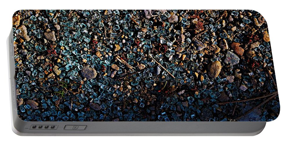 Broken Glass Portable Battery Charger featuring the photograph Vibrance by Joseph Yarbrough