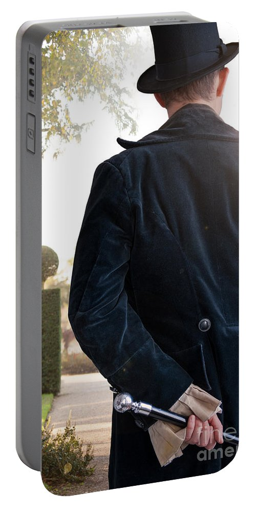 Victorian Portable Battery Charger featuring the photograph Victorian Man by Lee Avison