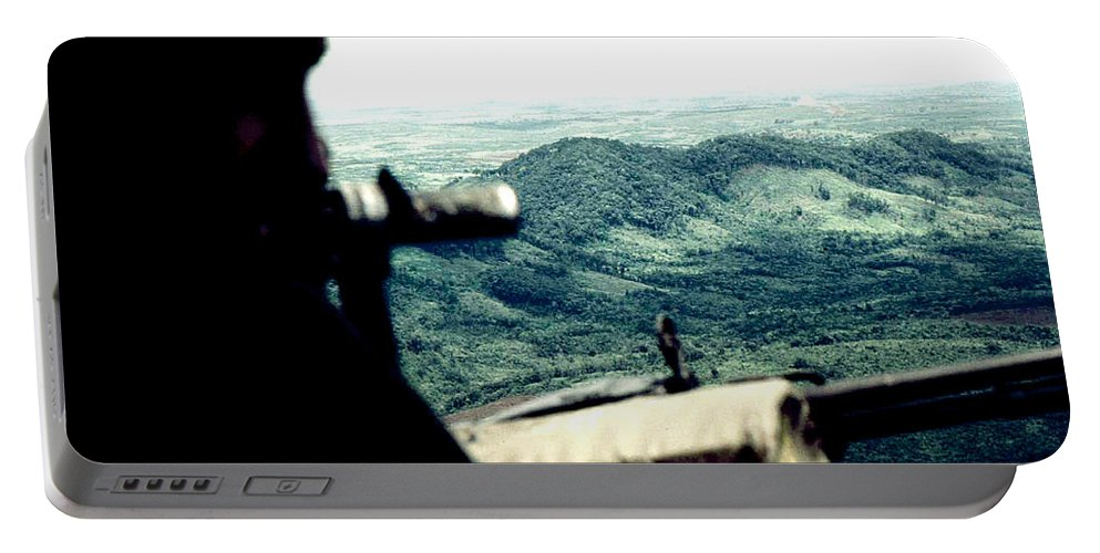 Landscape Portable Battery Charger featuring the photograph Vietnam Central Highlands by Norman Johnson