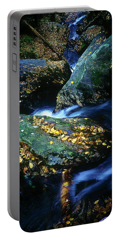 Fine Art Portable Battery Charger featuring the photograph View From Above by Rodney Lee Williams