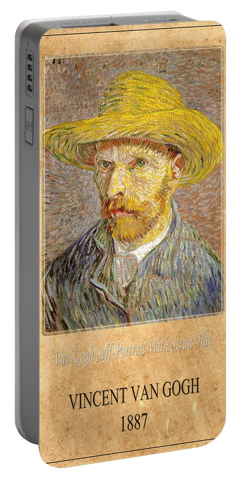 Van Gogh Portable Battery Charger featuring the photograph Vincent Van Gogh 1 by Andrew Fare