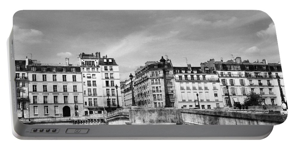 Paris Portable Battery Charger featuring the photograph Vintage Paris 5b by Andrew Fare
