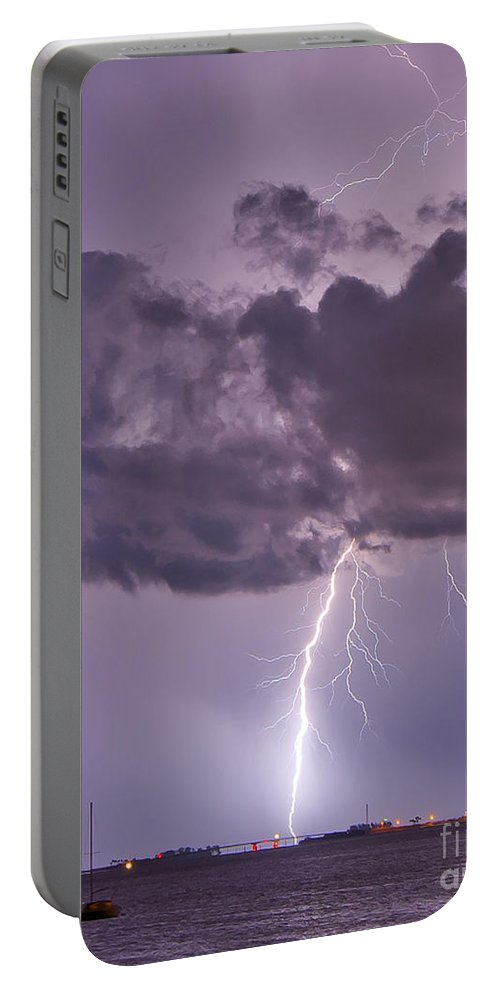 Florida Portable Battery Charger featuring the photograph Violet by Stephen Whalen