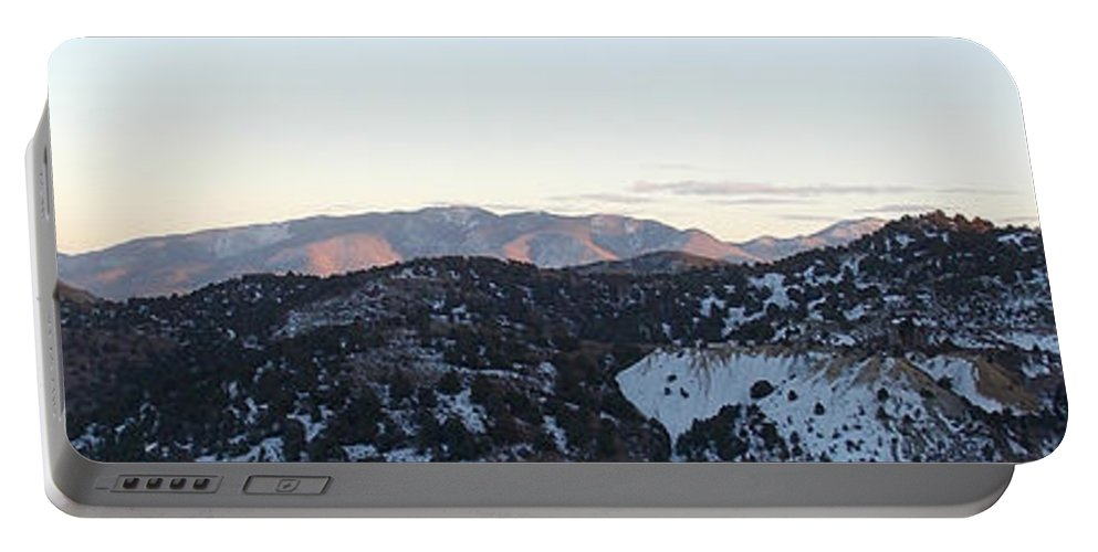 Portable Battery Charger featuring the photograph Virginia City View by Brent Dolliver