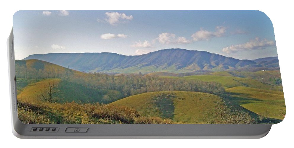 Mountain Portable Battery Charger featuring the photograph Virginia Mountains by Cynthia Guinn