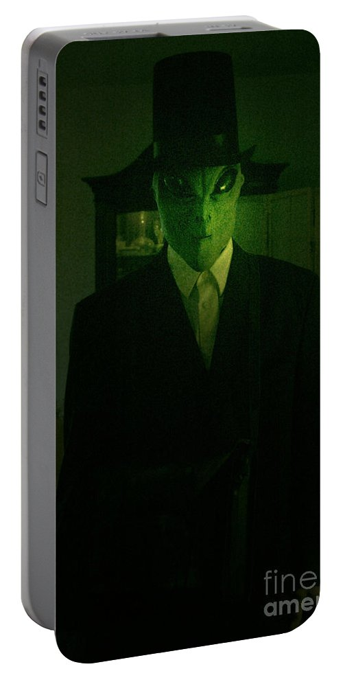 First Star Art Portable Battery Charger featuring the photograph Visitation by First Star Art