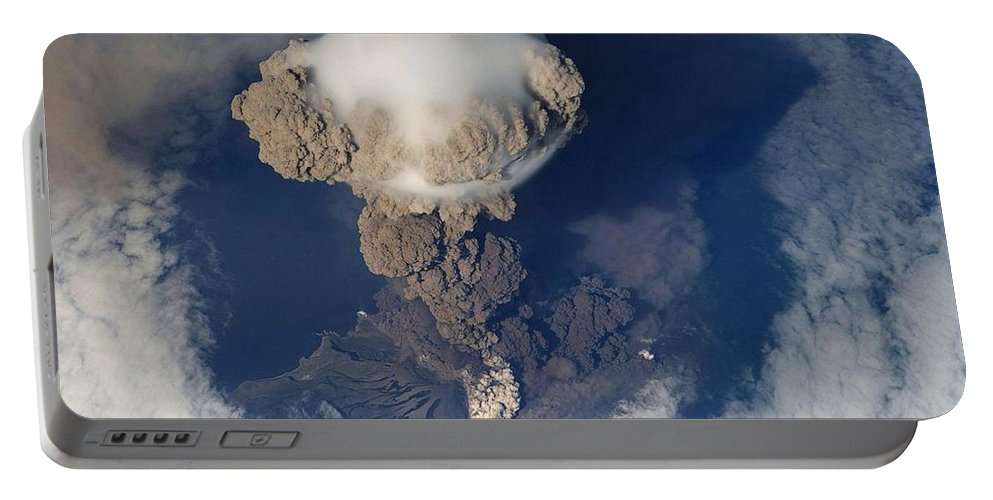 Volcanic Eruption Portable Battery Charger featuring the photograph Volcanic Eruption Eruption Volcano Volcanism by Paul Fearn