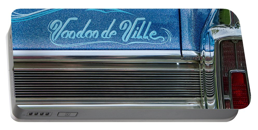 Car Portable Battery Charger featuring the photograph Voodoo De Ville by Lindley Johnson