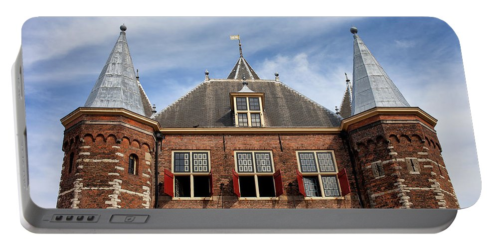 Waag Portable Battery Charger featuring the photograph Waag In Amsterdam by Artur Bogacki