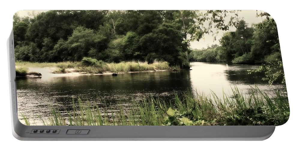 River Portable Battery Charger featuring the photograph Waccamaw River by Michele Nelson
