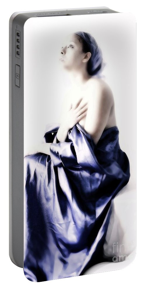 People Portable Battery Charger featuring the photograph Waiting For Guidance by Jessica Shelton
