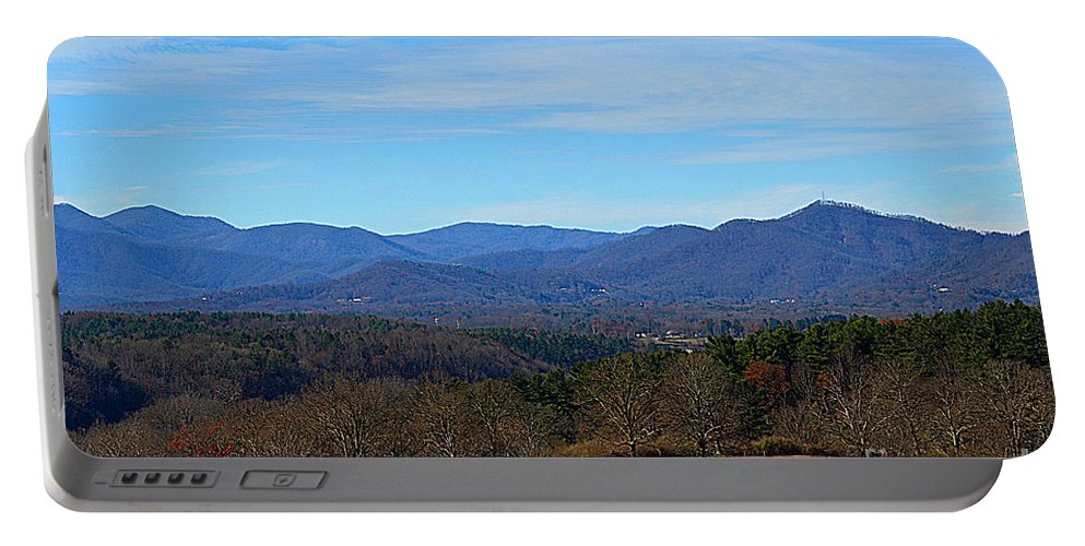 Waiting For Winter In The Blue Ridge Mountains Portable Battery Charger featuring the photograph Waiting For Winter In The Blue Ridge Mountains by Luther Fine Art