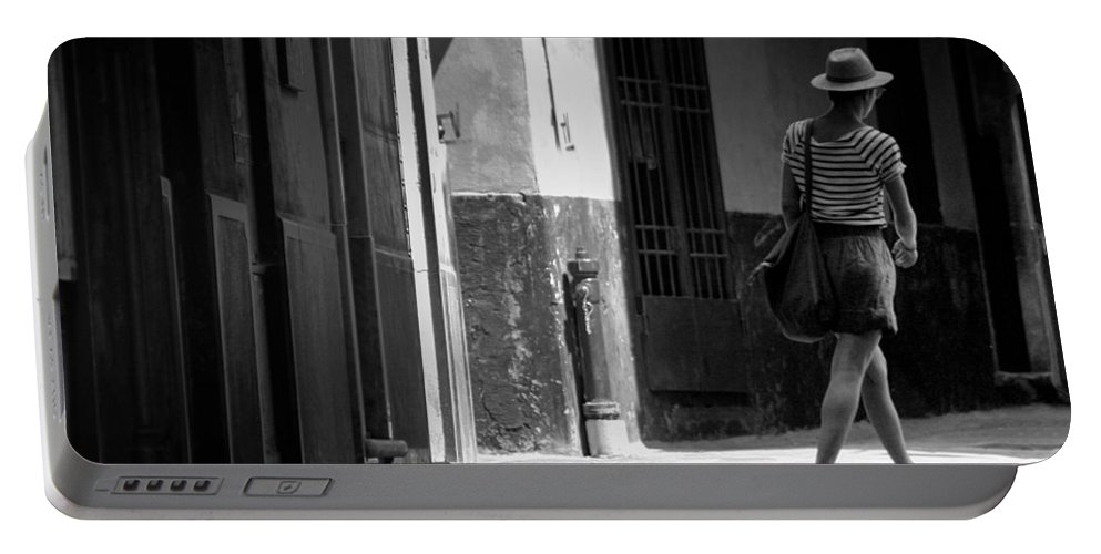 Italy Portable Battery Charger featuring the photograph Walk This Way .. by A Rey