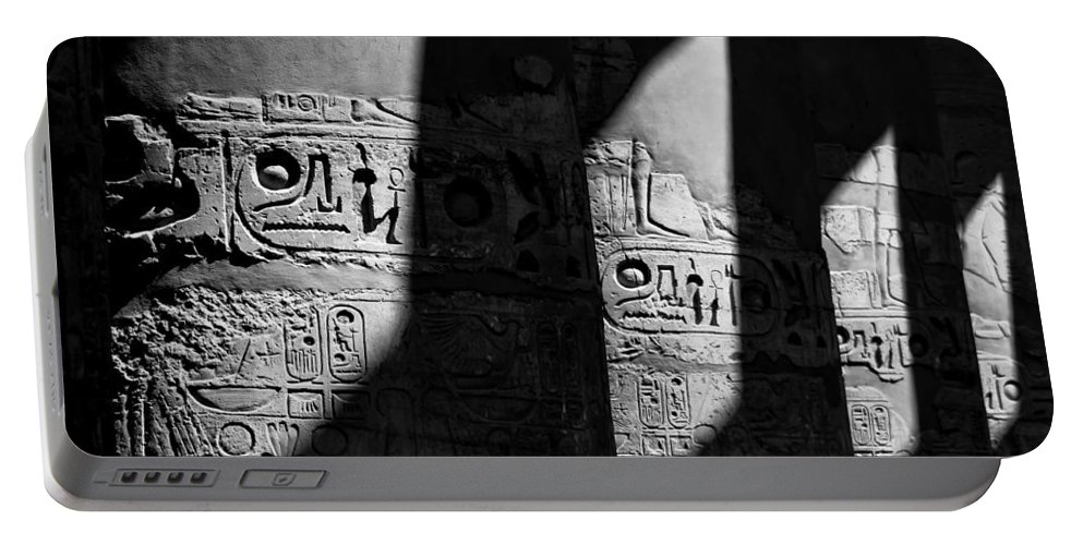 Egypt Portable Battery Charger featuring the photograph Walking In The Steps Of The Gods.. by A Rey