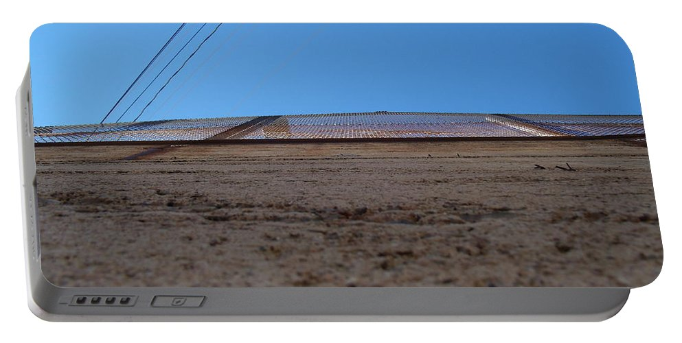 Bisbee Portable Battery Charger featuring the photograph Wall by David S Reynolds