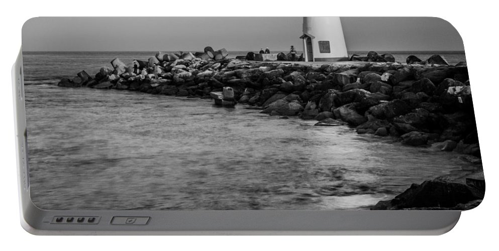 Walton Lighthouse Portable Battery Charger featuring the photograph Walton by Dayne Reast