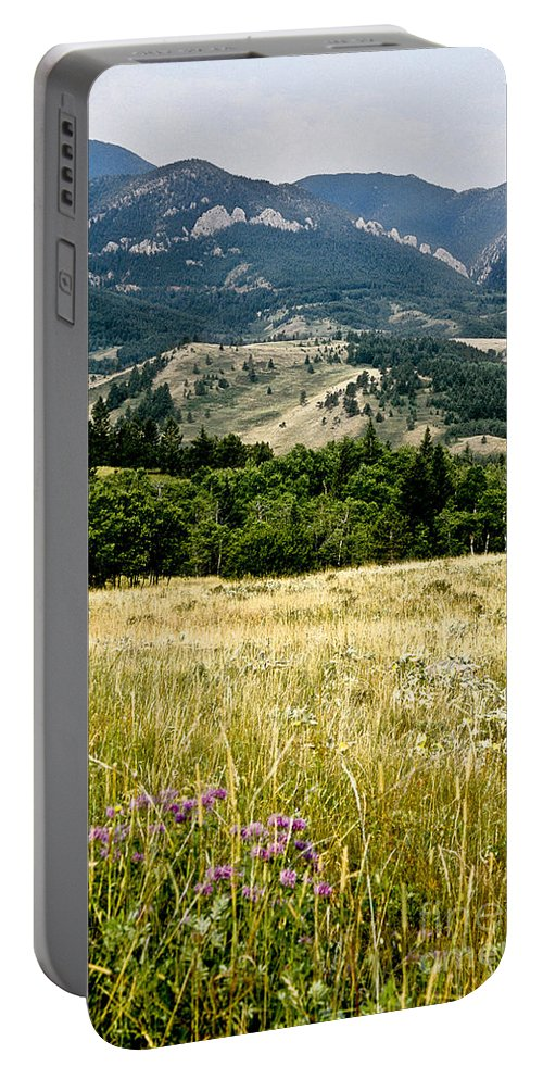 Wilderness Portable Battery Charger featuring the photograph Washake Wilderness by Kathy McClure