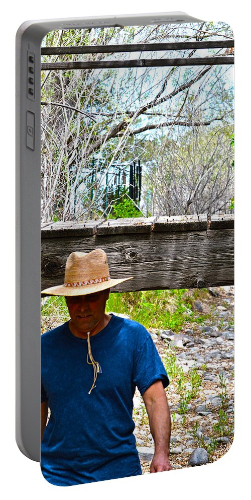 Son Portable Battery Charger featuring the photograph Watch Your Head by Brent Dolliver