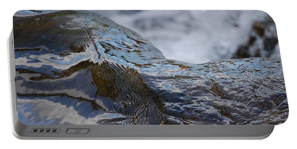 First Star Art Portable Battery Charger featuring the photograph Water Mountain 2 By Jrr by First Star Art