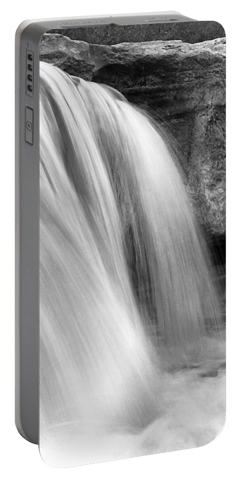 Waterfalls Portable Battery Charger featuring the photograph Waterfalls I I by Jim Smith