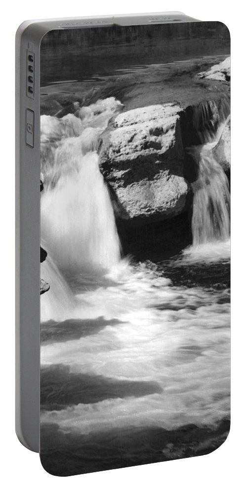 Waterfalls Portable Battery Charger featuring the photograph Waterfalls by Jim Smith