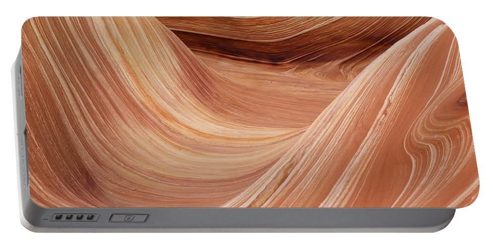 Landscape Portable Battery Charger featuring the photograph Wave Rock 3 At Coyote Buttes by Alex Cassels