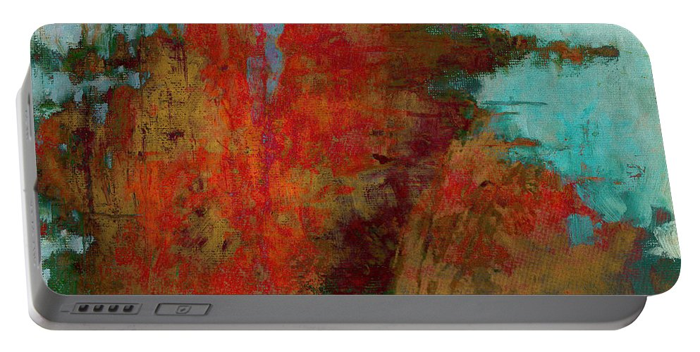 Brett Portable Battery Charger featuring the digital art Weighed In The Balance by Brett Pfister