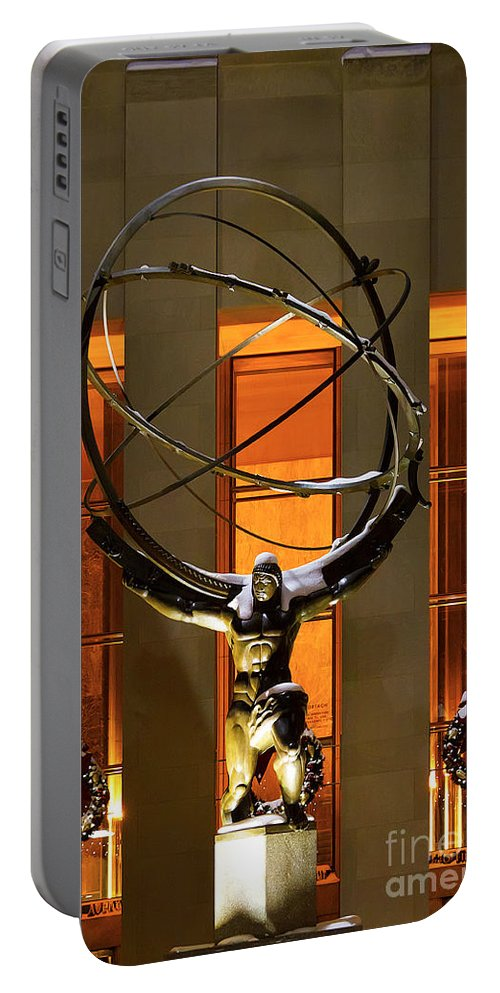 Atlas Portable Battery Charger featuring the photograph Weight Of The World by Rick Kuperberg Sr